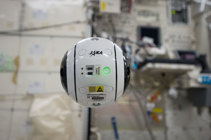 A close look at JAXA's Int-Ball zero-gravity drone on the ISS