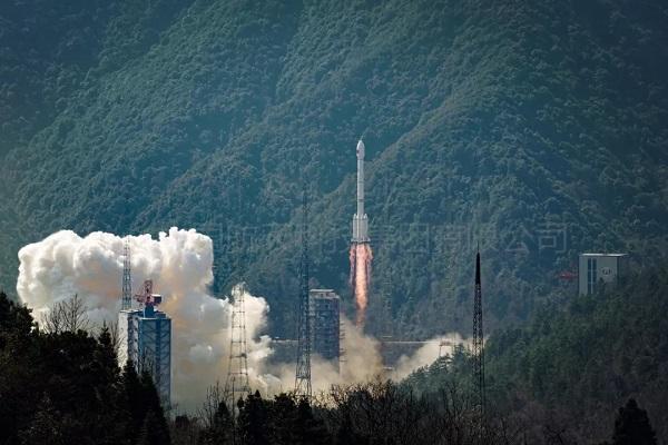 Twin BeiDou-3 navigation satellites sent into orbit by single rocket
