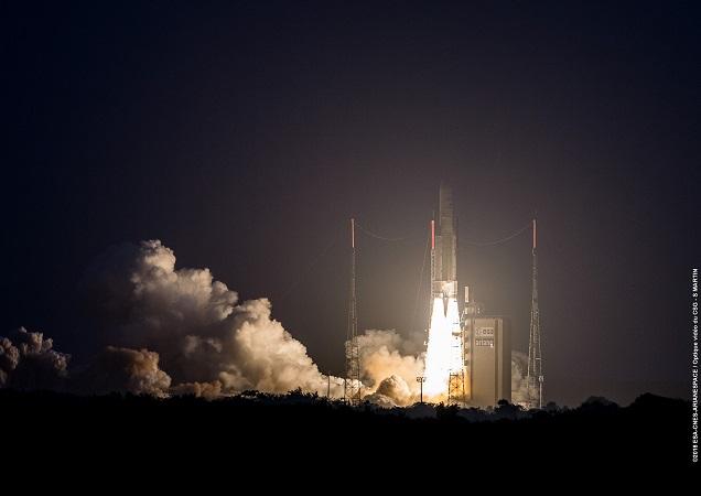 European Rocket Lofts Communications Satellites in 1st Launch Since Glitch