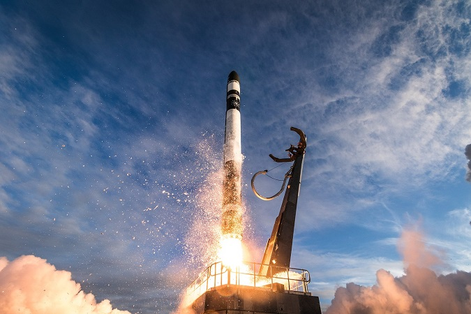 Lift off for second Rocket Lab commercial rocket