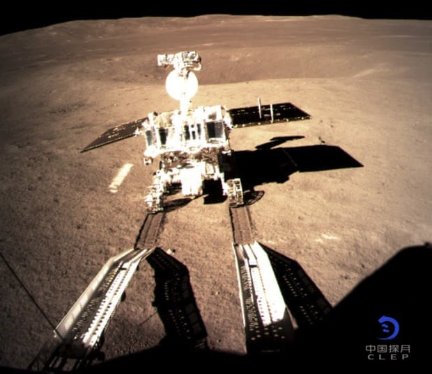 Chinese lunar probe snaps breathtaking panoramic PHOTOS of Moon's far side