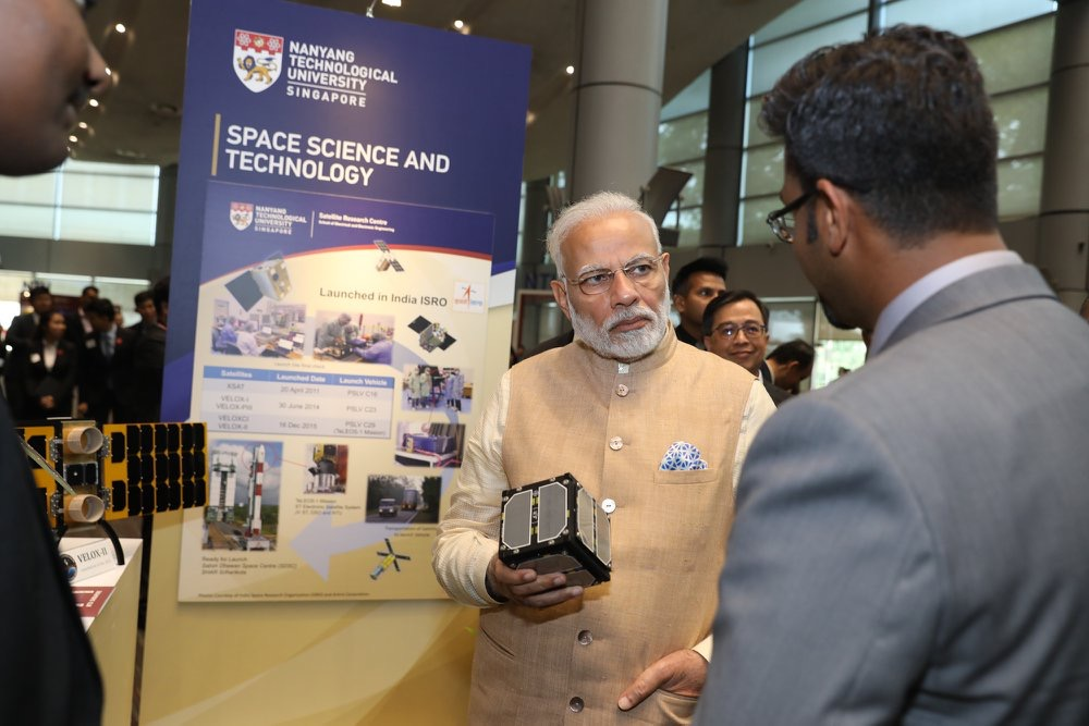 Singapore's NTU & India's IIST to collaborate on space research ...